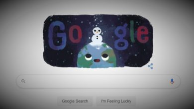 Google Doodle Celebrates Shortest Day
