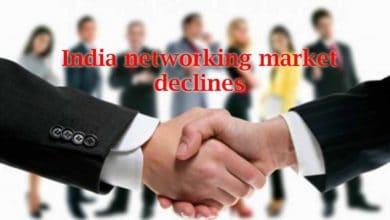 India Networking Market Declines