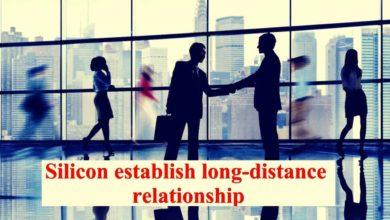 Silicon Establish Long Distance Relationship