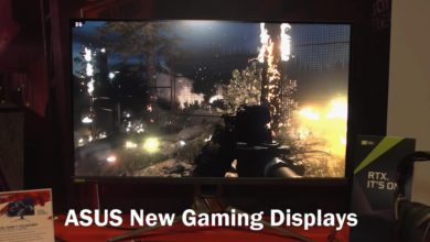 A S U S Showcases New Lineup Of Gaming Displays
