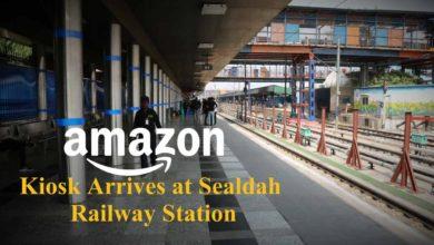 Amazon Kiosk Arrives At Sealdah Railway Station