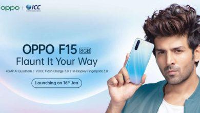 O P P O F15 With 48 M P A I Quad Camera To Launch In India