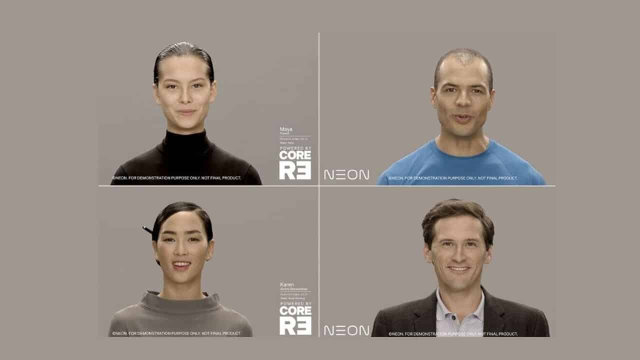 Samsung Backed Firm Showcases 'artificial Humans'