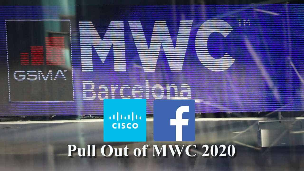 Cisco, Facebook Pull Out Of M W C