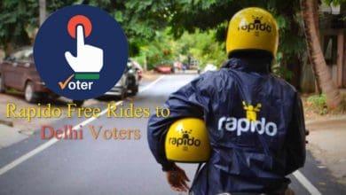 Rapido Free Rides To Delhi Voters