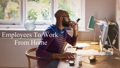 Apple Employees To Work From Home