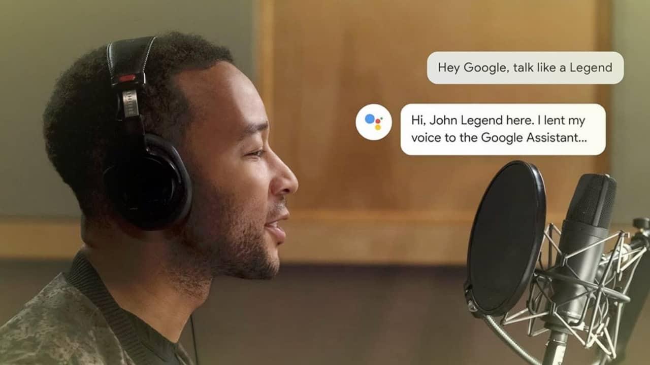 Google Says John Legend Assistant Voice
