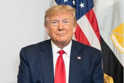 Covid 19 Trump Tests Negative White House Bars Journo Running Temperature