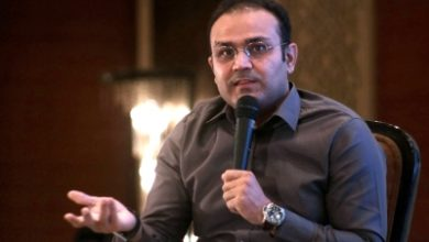 Sehwag Uses Truck Image To Advice People On Social Distancing
