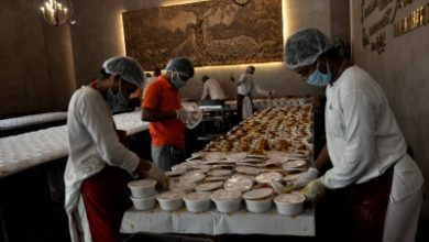 Bjp Good Governance Cell Feeding 1700 People A Day In Delhi