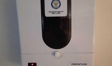 Drdo Develops Sanitiser Dispensing Unit 1