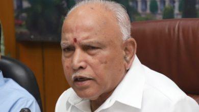 Karnataka Cm Donates A Years Salary To Covid 19 Relief Fund