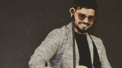 Photo of New-age B'wood singer Rahul Pandey on recording for German film