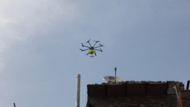 Now Garuda Drones To Disinfect Rourkela Two Others