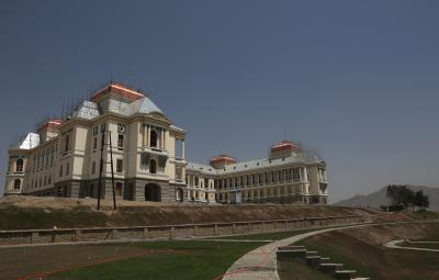 Palace In Kabul Turns Into Hospital For Covid 19 Patients