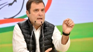 Photo of Rahul holds video presser, Cong leaders go gaga over it