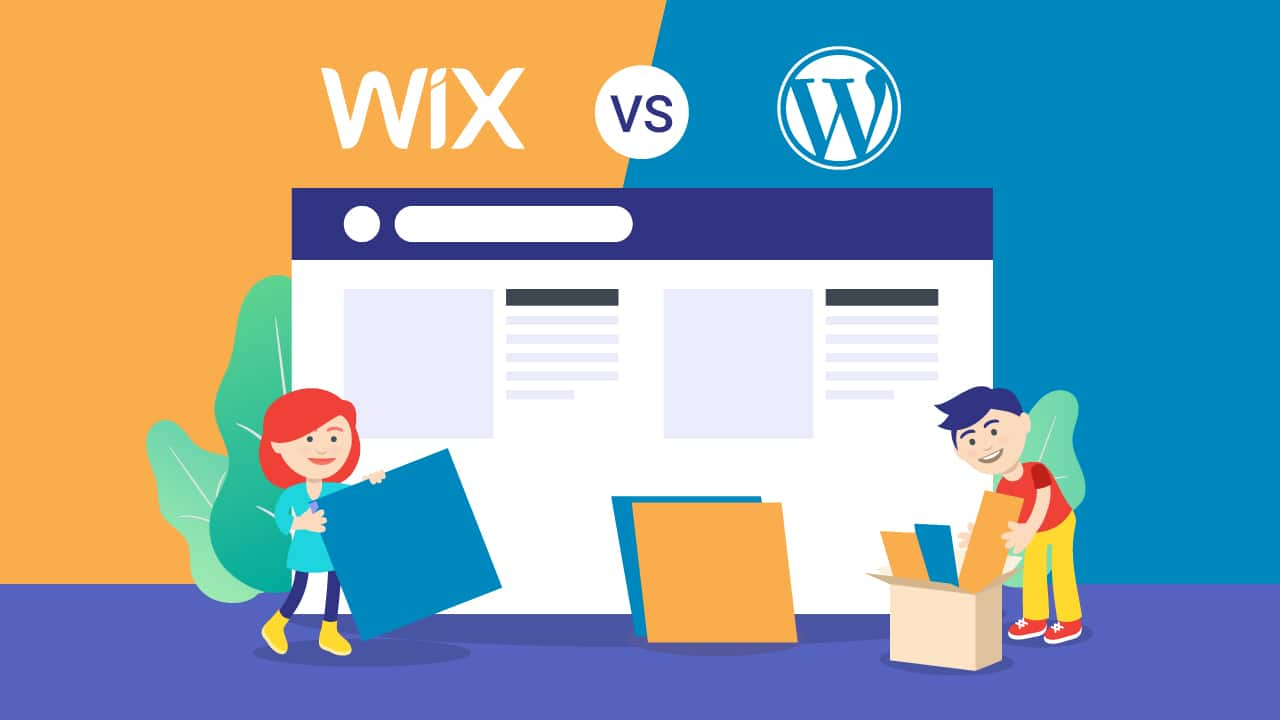 The Comparison Between Wix And Word Press
