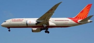 Air India Flies 326 Returnees To Bengaluru From London Ld
