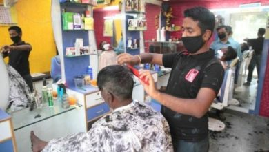 Photo of Barber shops, salons open and then shut again in Lucknow
