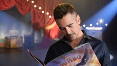 Photo of Colin Farrell was astonished by 'Dumbo' set