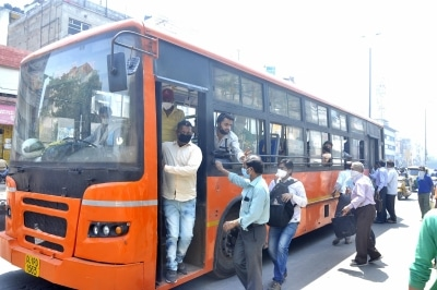 Delhi Buses Ridership Reaches Over 3 5 Lakh