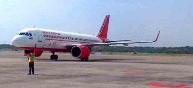 Flight Carrying Stranded Odia People From Dubai Arrives At Bhubaneswar