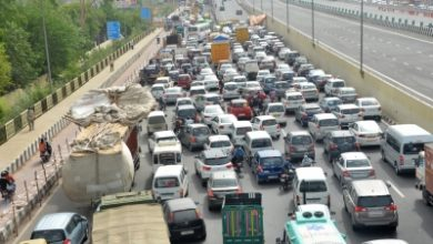 Massive Jams As Haryana Delhi Borders Sealed
