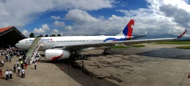 Nepal Airport Under Renovation Amid Lockdown