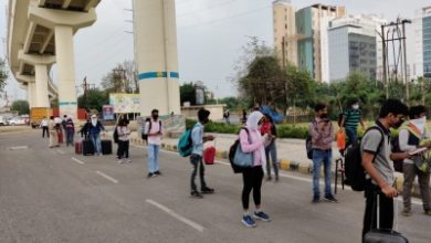 Photo of Noida: 1,184 students sent home in 51 buses