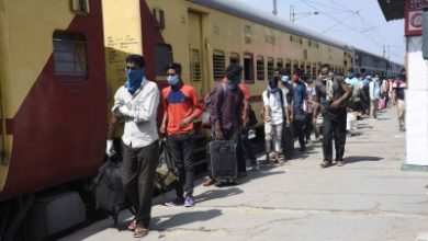 Photo of Trains with migrants to 6 north & east states chug from B'luru (Ld)
