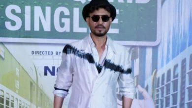 Photo of When Irrfan Khan took a dip in ice-cold water