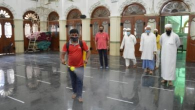 Bluru Temples Mosque Sanitise Premises Before Reopening