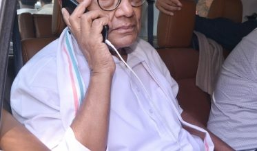 Photo of Digvijaya Singh booked for holding protest amid pandemic