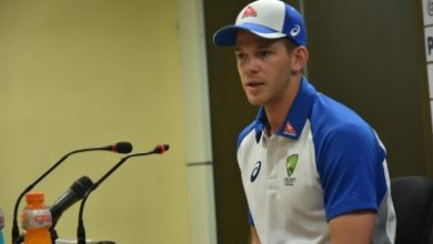 Will Be Watching Eng Wi Test Series Closely Says Tim Paine
