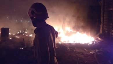 70 Shanties Gutted In Fire In Delhis Shahbad Dairy Area