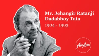 Air Asia India Celebrated And Paid Tribute To J R D Tata