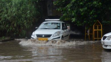 Heavy Rains Lash Delhi Low Lying Areas Waterlogged