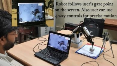 Photo of IISc team designs robotic arm to help disabled operate devices