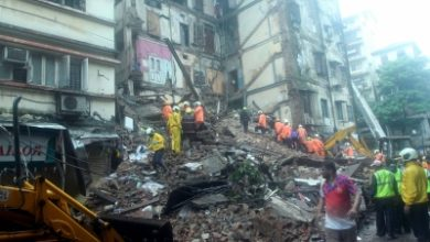 Mumbai Building Crash Toll Climbs To 10 12 Injured