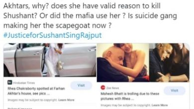 Photo of Team Kangana Ranaut: Is B'wood Suicide Gang making Rhea the scapegoat?