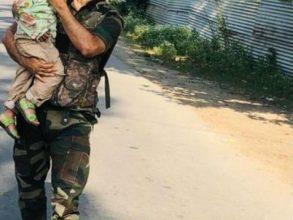 Toddler Rescued After Watching Grandad Die In Kashmir Terror Strike Ld
