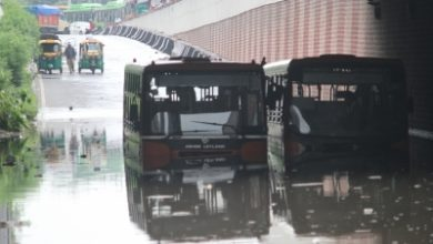 Photo of Traffic takes a hit in Delhi after heavy rains