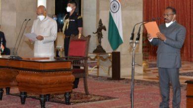 Gc Murmu Sworn In As New Cag