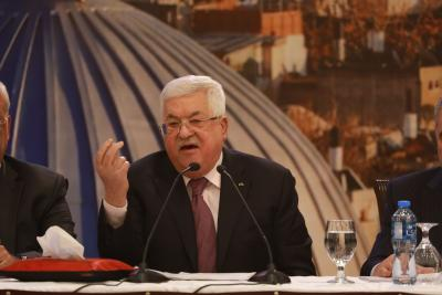No Country Has Right To Speak On Behalf Of Palestinians Abbas