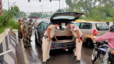 Security Beefed Up In Delhi Ncr Ahead Of I Day