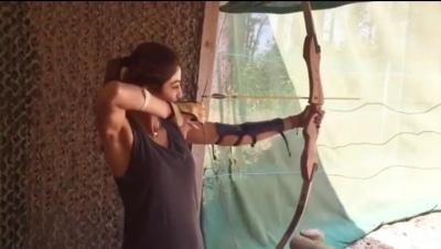 Shilpa Shetty Tries Archery In New Video Post