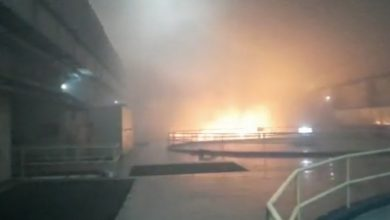 Telangana Power Station Fire Rescue Ops On To Save 9 Ld