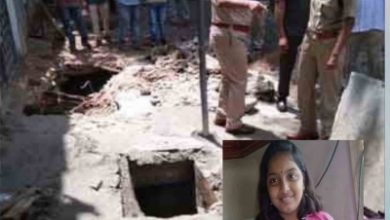 12 Year Old Hyderabad Girl Falls Into Drain Washed Away
