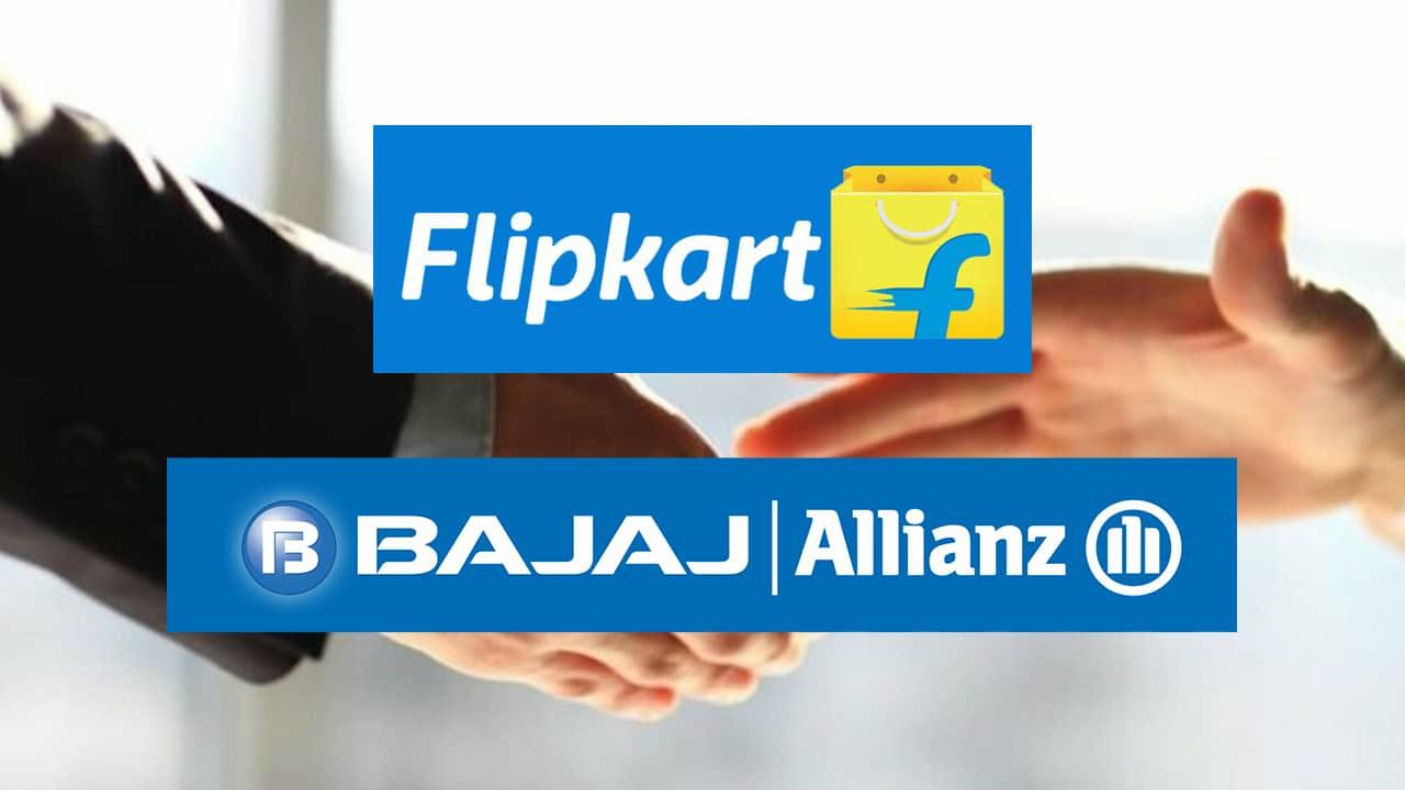 Flipkart Partners With Bajaj Allianz To Offer Online Financial Frauds