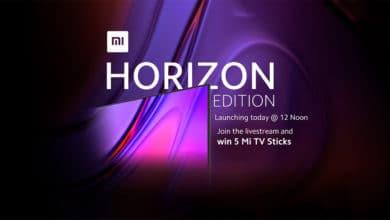 Xiaomi Mi T V Horizon Edition Launch In India Today